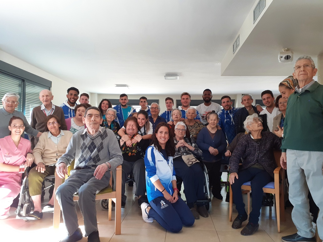 Visita Centro de F.P. Cesur Murcia Olimpic