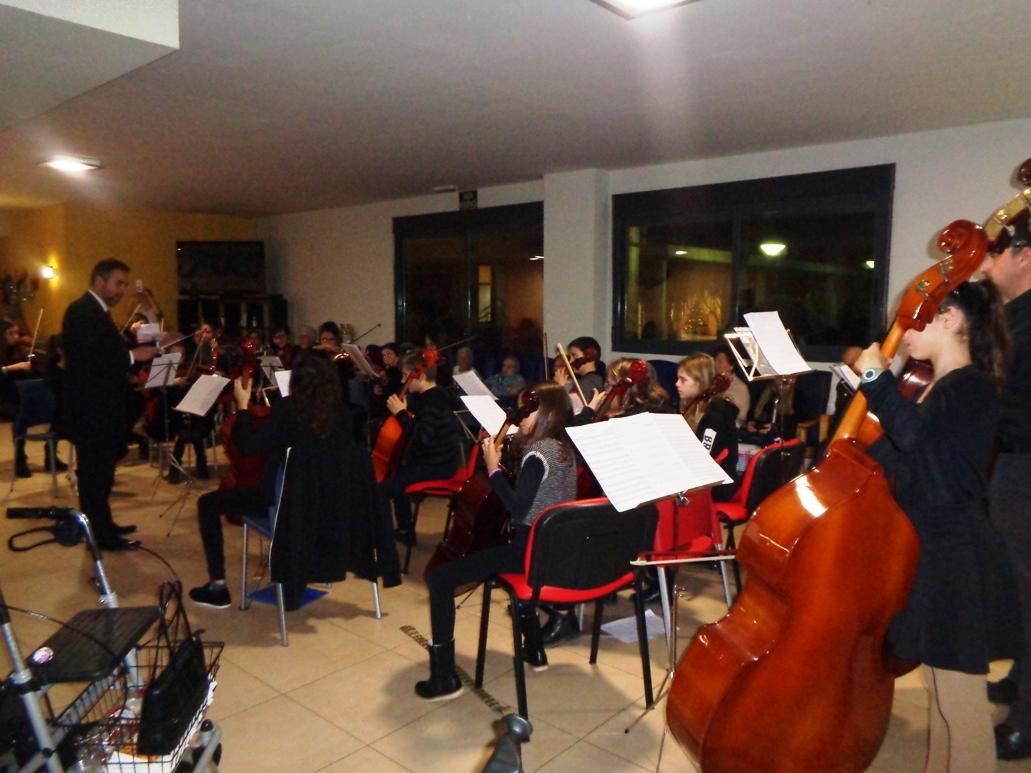 Actuacion de la Orquesta de la Agrupación Musical Juvenil de Cabezo de Torres