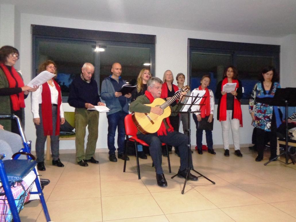 Actuación de la Coral de la Agrupación Musical de Cabezo de Torres