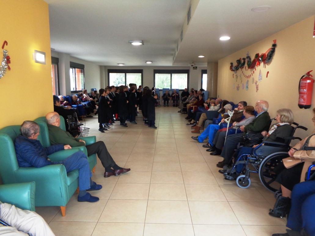 Visita del Colegio Montepinar