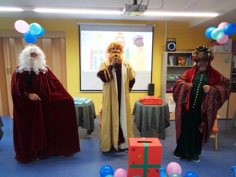 Recepción de Sus Majestades Los Reyes Magos de Oriente